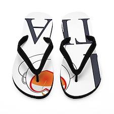 I  [HEART] Tea Flip Flops