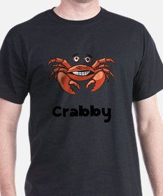 Crabby Crab Black SOT T-Shirt