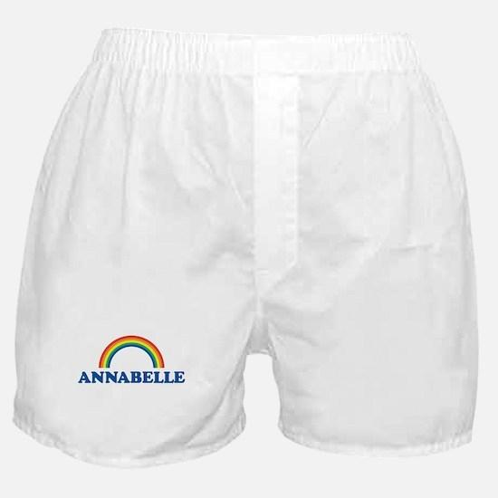 ANNABELLE (rainbow) Boxer Shorts