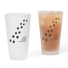 7x7_apparel-paws Drinking Glass