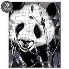 Large PosterpGrey Tone Panda2 Puzzle
