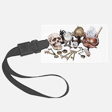 SkullKeysWitchDeskItems070111 Luggage Tag