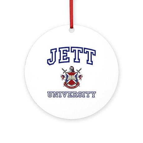 JETT University Ornament (Round)