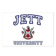JETT University Postcards (Package of 8)
