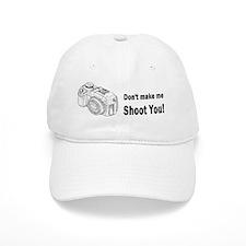 photographygift don tmake medbuttbumpl Baseball Cap