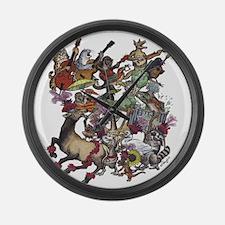North Country Fair Large Wall Clock