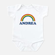ANDREA (rainbow) Infant Bodysuit