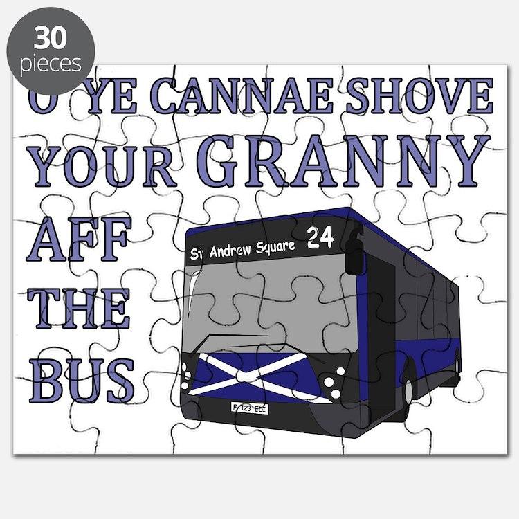 Ye Cannae Shove Your Granny Puzzle