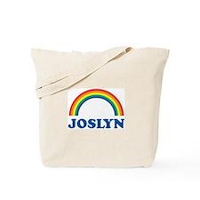 JOSLYN (rainbow) Tote Bag