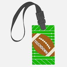 Football Theme iPad Hard Case Luggage Tag