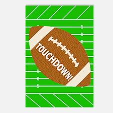 Football Theme iPad Hard  Postcards (Package of 8)