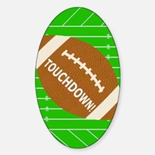 Football Theme iPad Hard Case Decal
