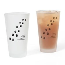 5x5_apparel-paws Drinking Glass