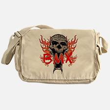 BMX skull 2 Messenger Bag