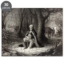 7.5x5.5_Greetingcard_washingtonPraying Puzzle