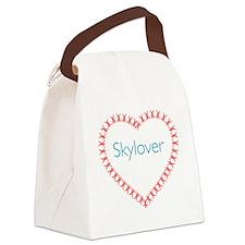 skyloverMid Canvas Lunch Bag