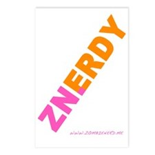 ZNERDY GIRL Postcards (Package of 8)