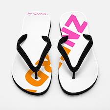 ZNERDY GIRL Flip Flops