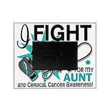 FLAG For My Aunt Cervical Cancer Picture Frame