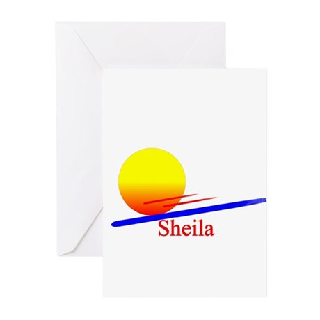 Sheila Greeting Cards (Pk of 10)