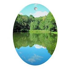 Lake Fridley Oval Ornament