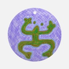 coqui33 Round Ornament