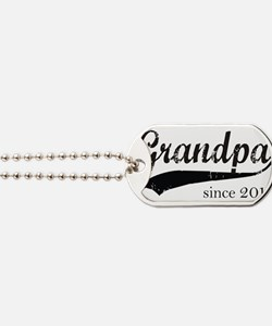 Cute New grandfather Dog Tags