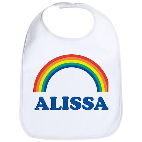ALISSA (rainbow) Bib