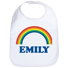 EMILY (rainbow) Bib