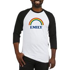 EMILY (rainbow) Baseball Jersey