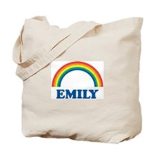 EMILY (rainbow) Tote Bag