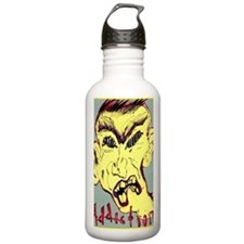 face of addiction Water Bottle