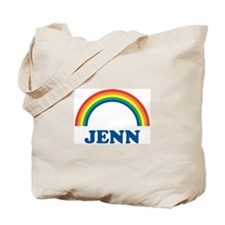 JENN (rainbow) Tote Bag