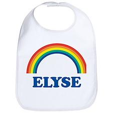 ELYSE (rainbow) Bib