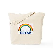 ELYSE (rainbow) Tote Bag