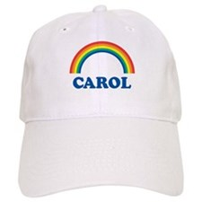 CAROL (rainbow) Baseball Cap