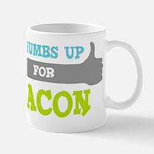Bacon-2-Thumbs-UP-DBL Mug