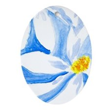 Daisies Oval Ornament
