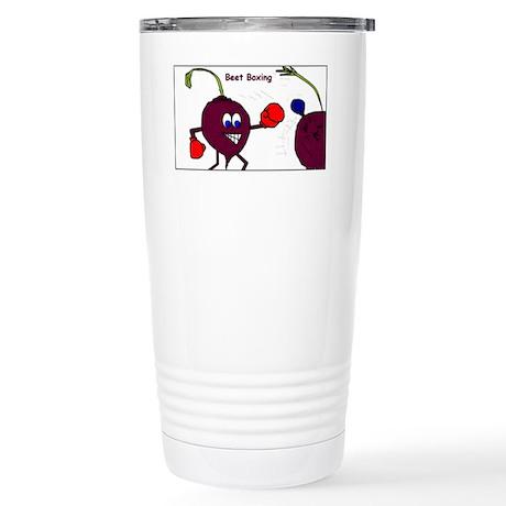 beet boxing Stainless Steel Travel Mug