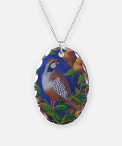 Partridge in a Pear Tree Necklace