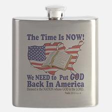 God in America Flask
