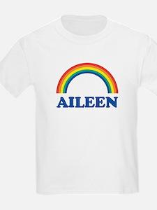 AILEEN (rainbow) Kids T-Shirt
