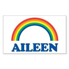 AILEEN (rainbow) Rectangle Decal