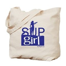 SUPgirl_T5_blue Tote Bag