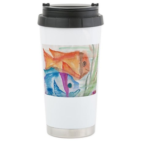 Two fishes Stainless Steel Travel Mug