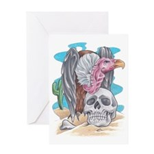 vulture color Greeting Card