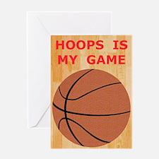 Basketball iPad Hard Case, My Game Greeting Card