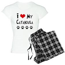 I-Love-My-Catahoula Pajamas