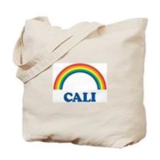 CALI (rainbow) Tote Bag