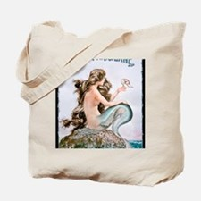 BLK T- HEROUARD MERMAID Tote Bag